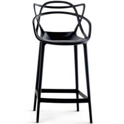 Photo of Kartell Barhocker Masters Stool schwarz, Designer Philippe Starck & Eugeni Quitllet, 99x57x47 cm Kar