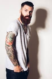 Resultado de imagen para tattooed male models tumblr
