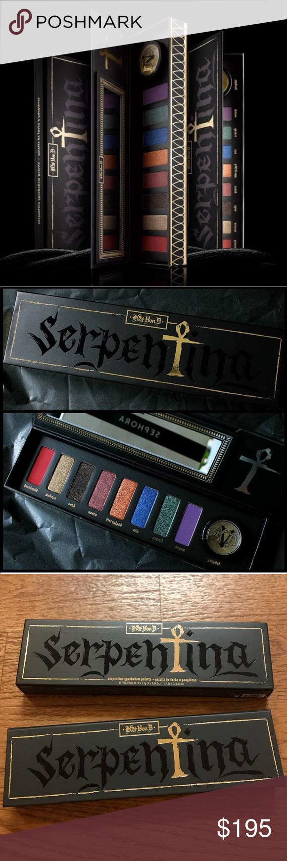 SALE🖤KVD🖤🐍KVD Serpentina Palette NWT Serpentina palette