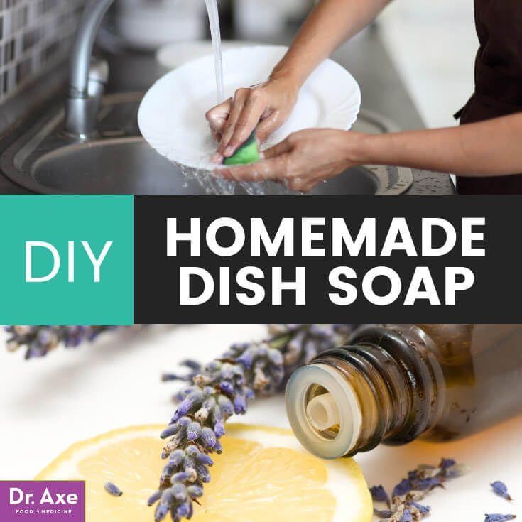 homemade dish soap with lemon and lavender oil recipe diy rh pinterest com