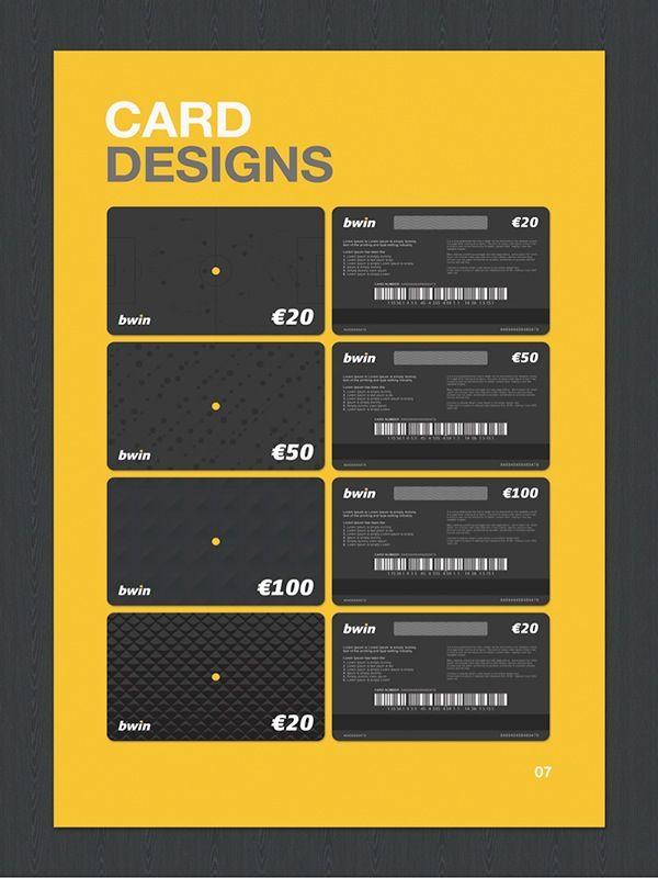 Https Www Behance Net Gallery 17495087 Credit Card Design