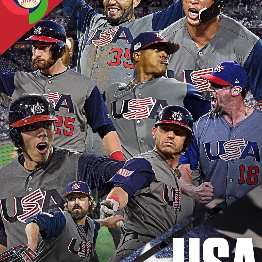 Team USA WBC 2017 (With images) World baseball classic
