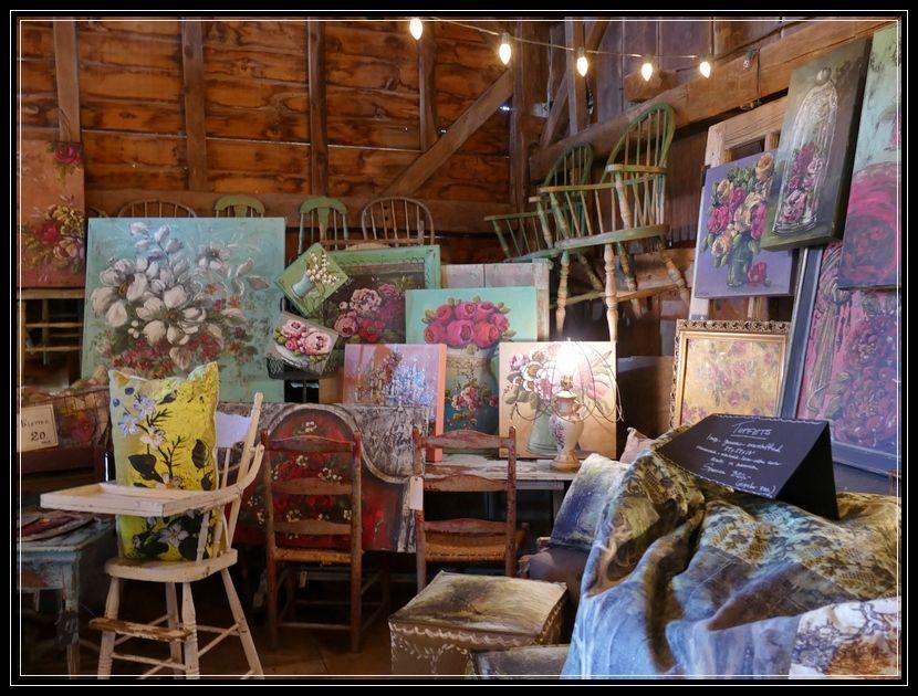 Inside the art studio of jennifer lanne inside art