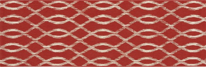 Dyna Coral Indoor-Outdoor Runner  | Crate and Barrel