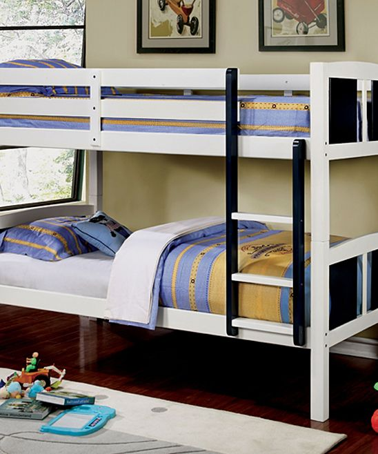 white black falen wood transitional twin bunk bed products rh pinterest ch