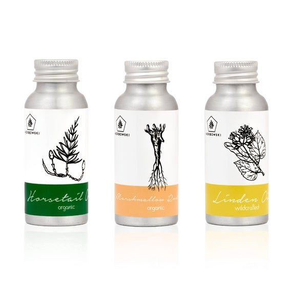 Trio of Botanicals Extracted in Jojoba Oil | Vegan Natural Oils | Organic Skincare | Aromatherapy, Holistic Massage | Green Beauty Eco #jojobaoil