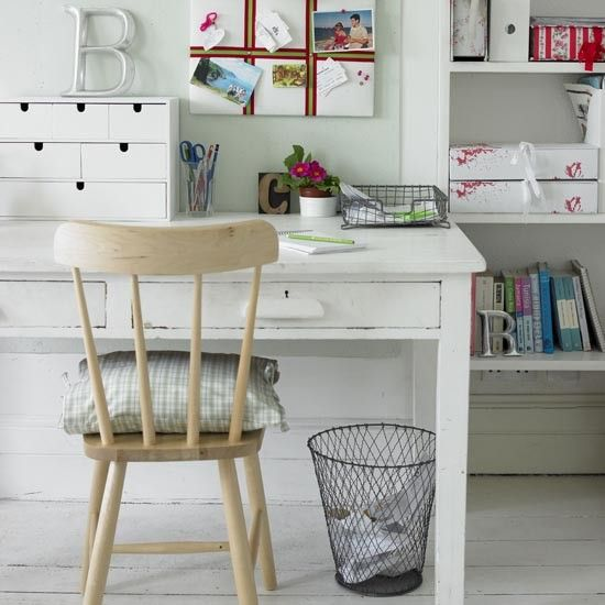 Home Office Design, Shabby Chic