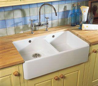 Villeroy & Boch FARMHOUSE 80 Double Bowl Belfast Kitchen Sink ...