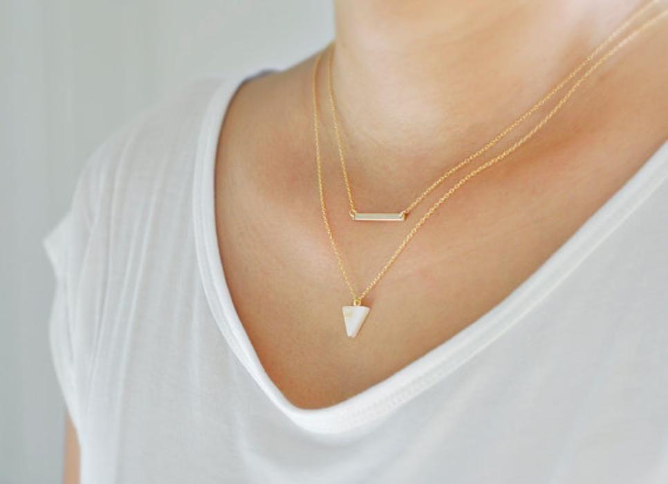 Foyer Minimalist Jewellery : Minimalist jewelry is trending pieces to buy and how