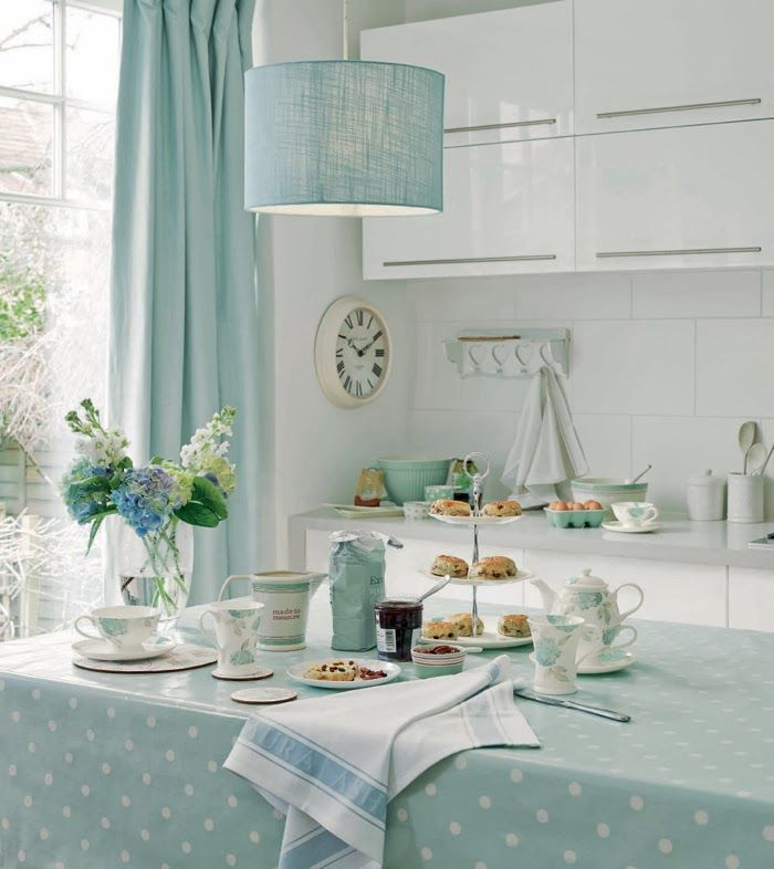 Laura Ashley Home Autumn Winter 2013 | Cocinas, Comedores y Cortinas ...