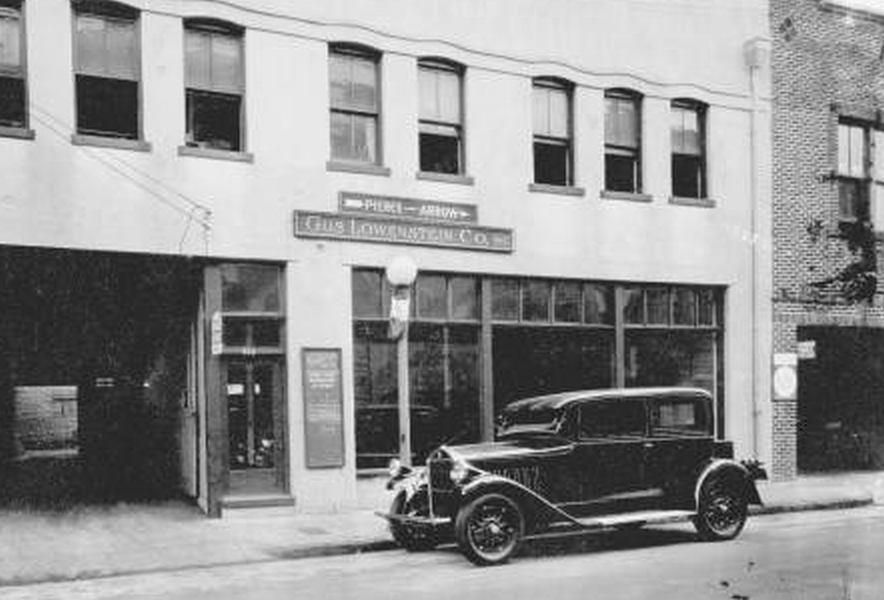 Pierce Arrow Dealership Buildings.... Car dealership