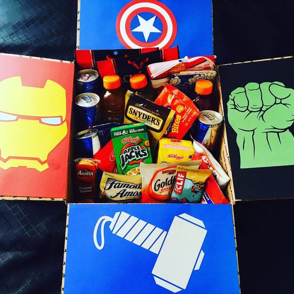 Superhero Care Package Google Search Marvel Gifts
