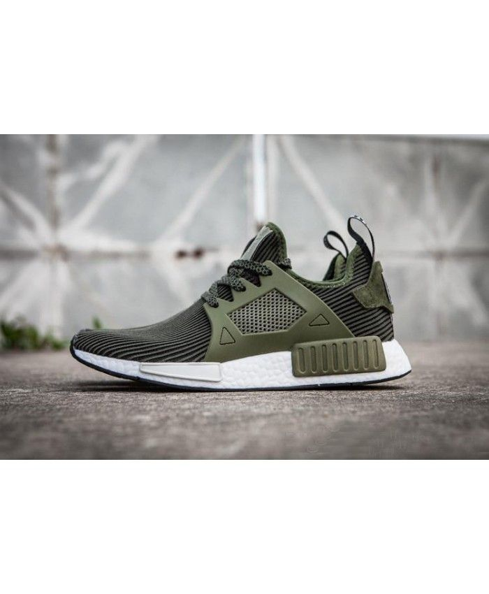 newest 5e714 f86cf Adidas NMD XR1 Olive Green Cargo Duck Camo Shoes