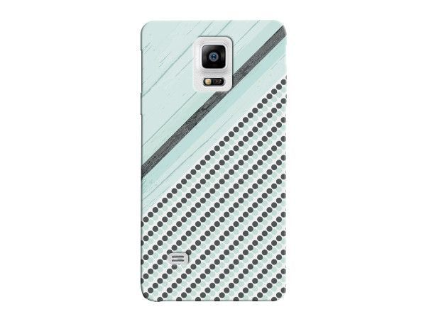 Sea Foam Green Striped Wood Grain Phone Cover