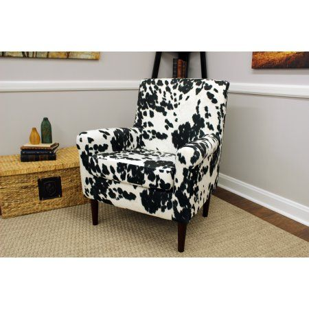 Marvelous Ellis Rolled Arm Lounge Chair Cowhide Black Products Ocoug Best Dining Table And Chair Ideas Images Ocougorg