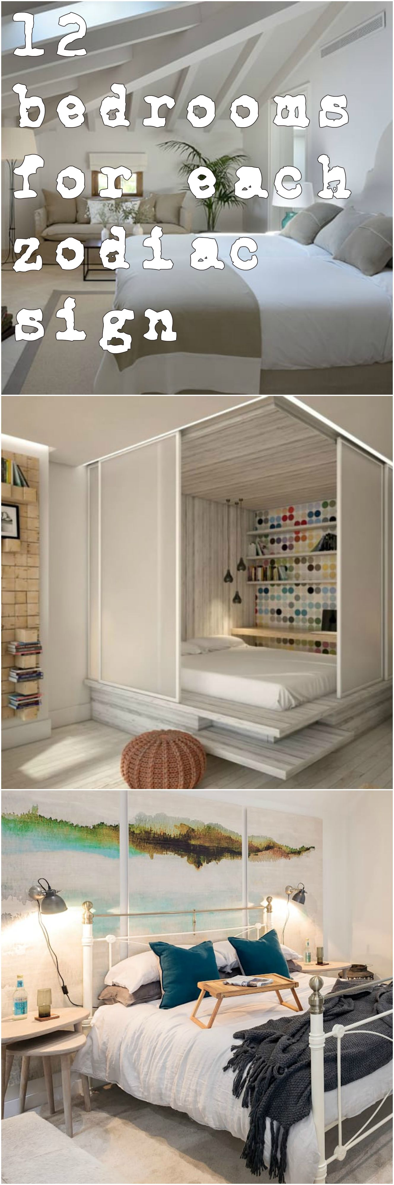 Donu0027t miss 12 bedrooms for each zodiac