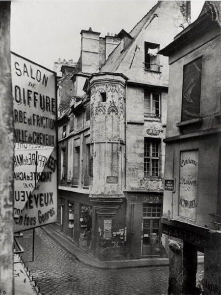 Rue Vieille-du-Temple, Paris. 1858. Photographer: Charles Marville