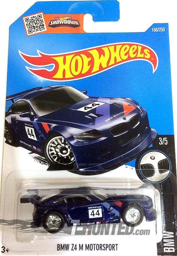 Hot Wheels 2016 Super Treasure Hunt Bmw Z4 M Motorsport