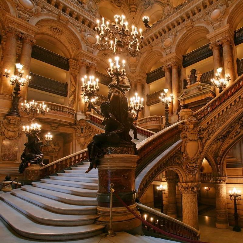 Opera House Grand Staircase Opera House Grand