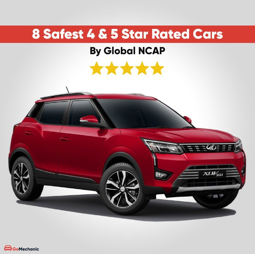 8 Safest 4 5 Star Global Ncap Rated Cars In India Car Safety Best Suv Cars Luxury Suv Cars
