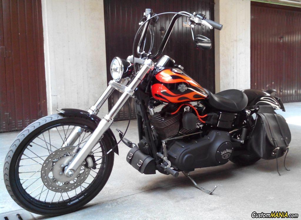 Sick Custom Dyna Wide Glide: Harley Davidson Dyna FXDWG Wide Glide Customized. See More