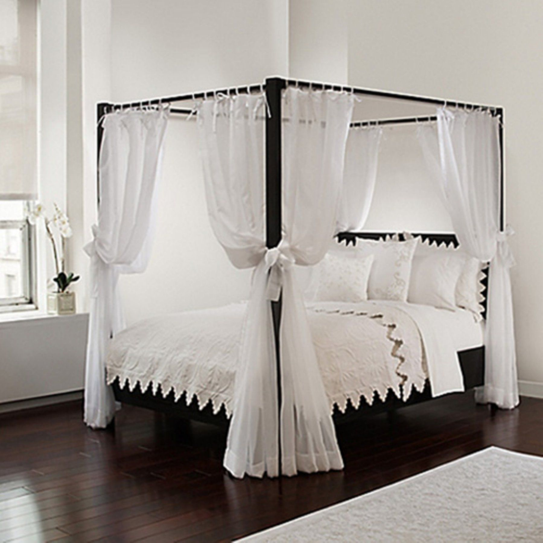 sheer canopy panels set of 8 by royale home in 2019 products rh pinterest com