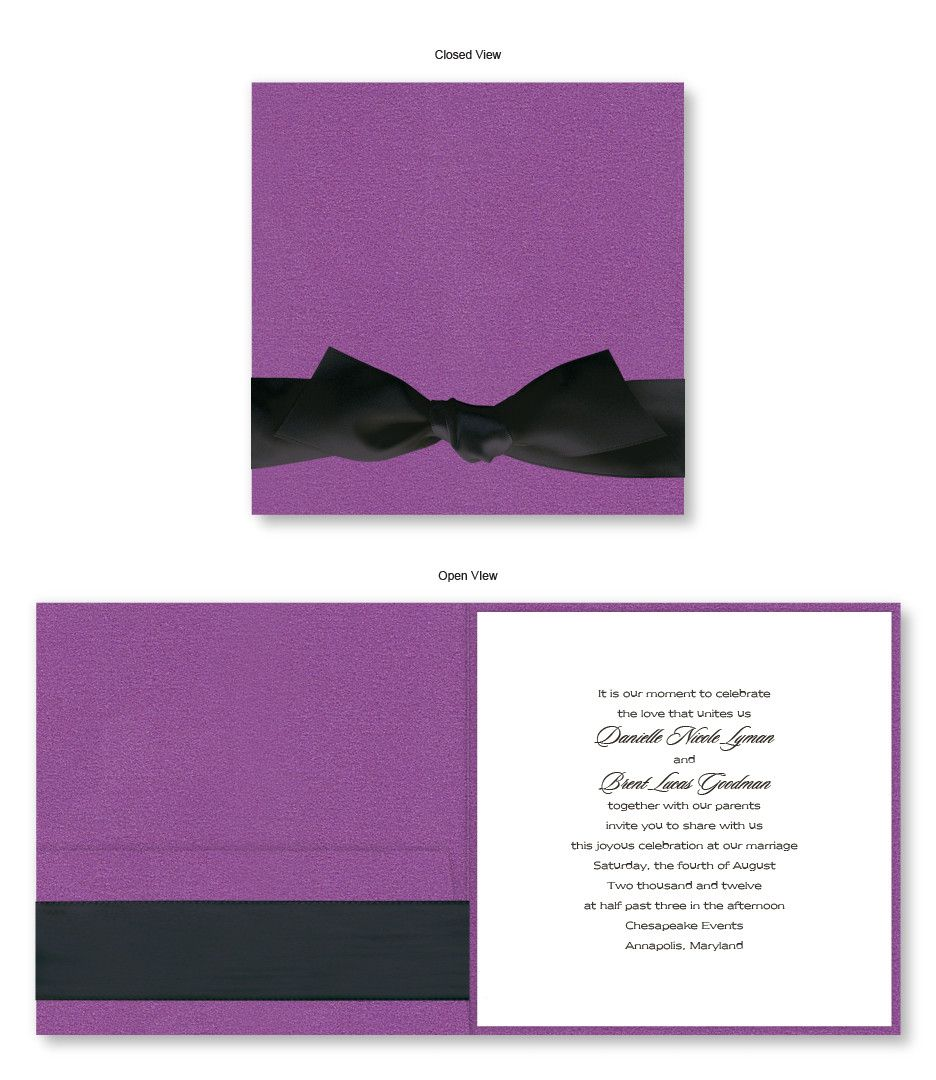 Iridescence Wedding Invitations Under 310 for 100