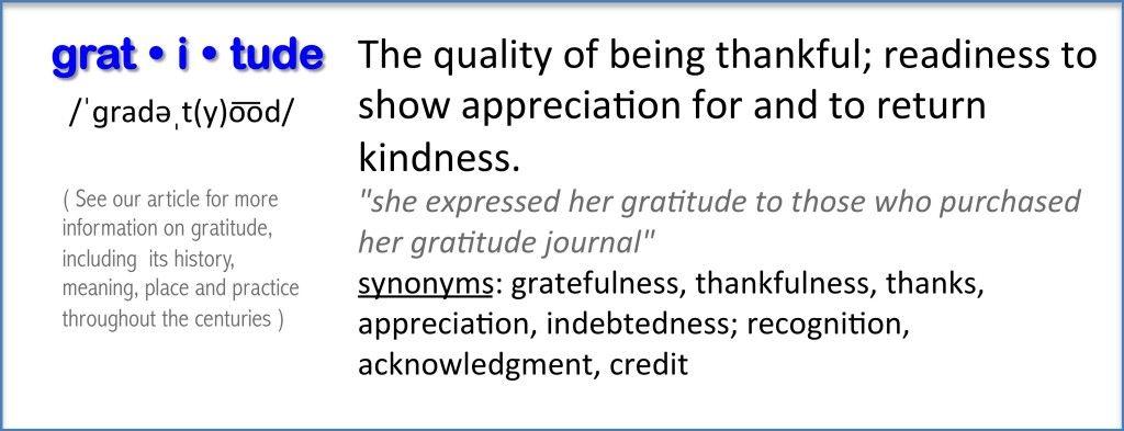 Gratitude Definition | Gratitude. Define gratitude. Gratitude definition