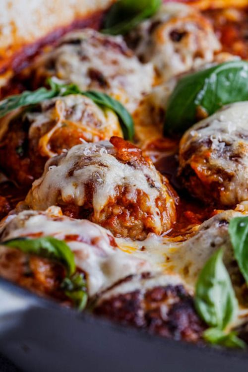 Cheesy baked meatballsReally nice recipes. Every hour.Show me  Mein Blog: Alles rund um die Themen Genuss & Geschmack  Kochen Backen Braten Vorspeisen Hauptgerichte und Desserts # Hashtag