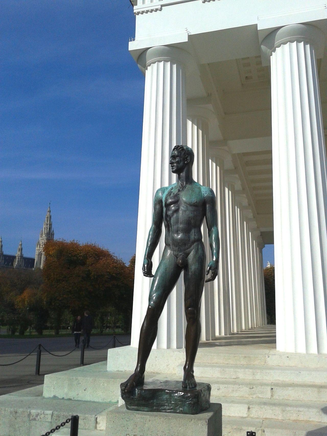 Theseus Temple In The Volksgarten Vienna Male Body Art Rome Art Art Of Man