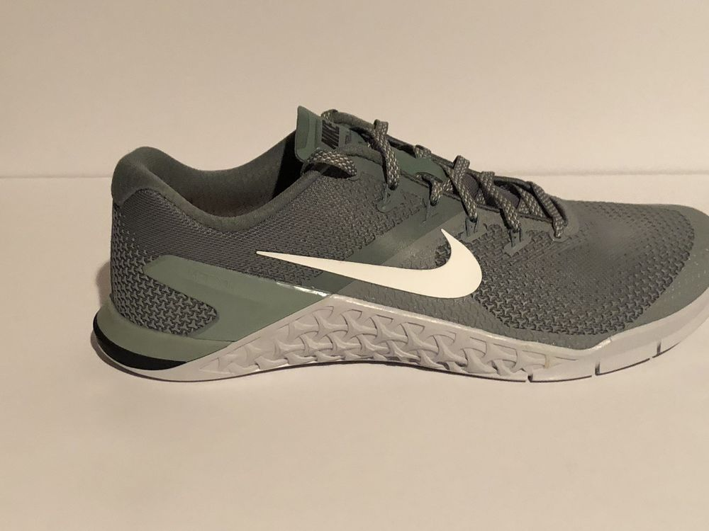 0db265d85a73 Nike Metcon 4 Mens CrossFit Training Shoes 10.5 Clay Green White ...