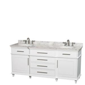 wyndham collection berkeley 72 in double vanity in white with rh pinterest com