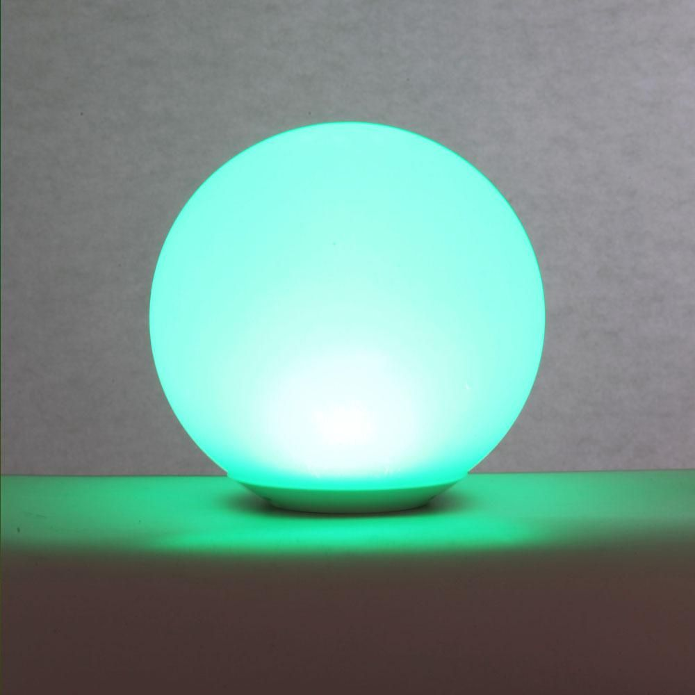 Alsy 8 In Color Changing Led Glow Ball Lamp 19237 000 The Home Depot Ball Lamps Led Color Changing Lights Color Changing Lamp