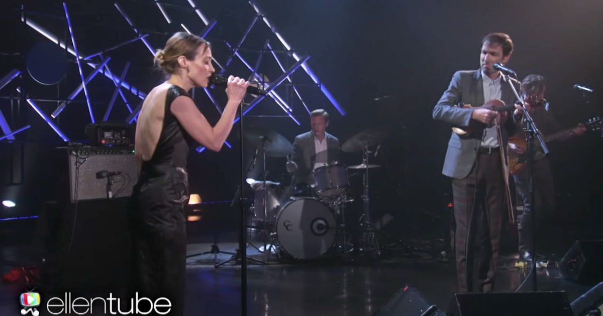 See Andrew Bird, Fiona Apple Perform \'Left Handed Kisses ...
