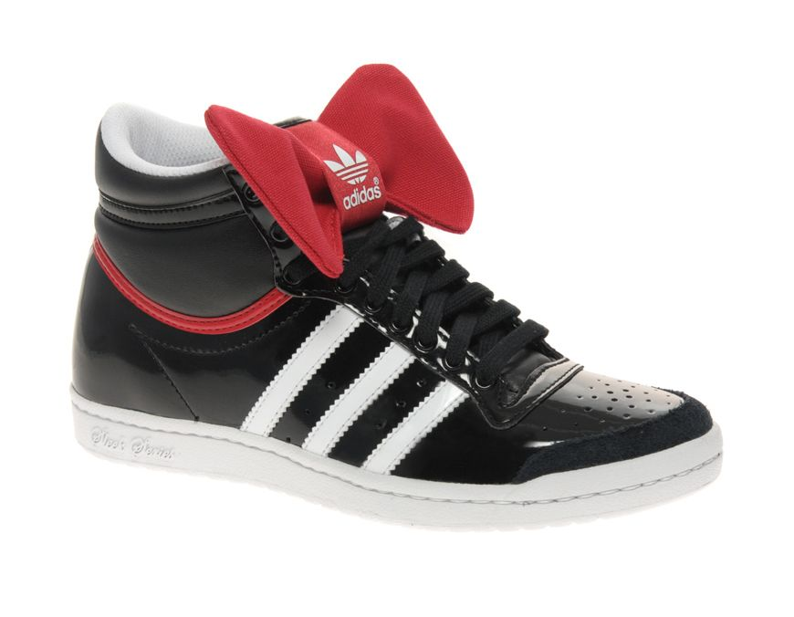 best loved daeef e7135 Adidas Top Ten Hi Sleek Night Bow Trainer