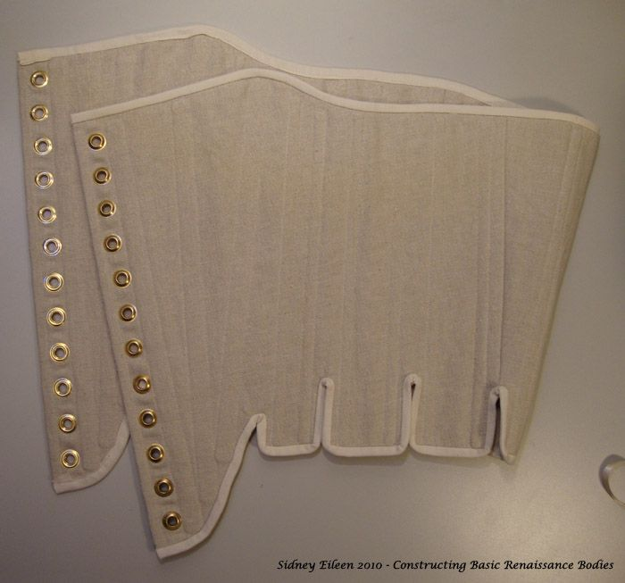 """Sewing Basic Strapless """"Renaissance"""" Stays with Modern Materials » By Sidney Eileen"""
