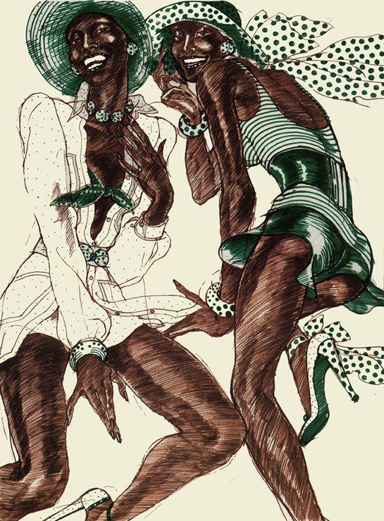 El Picasso De La Ilustracion De Moda Antonio Lopez Verlanga