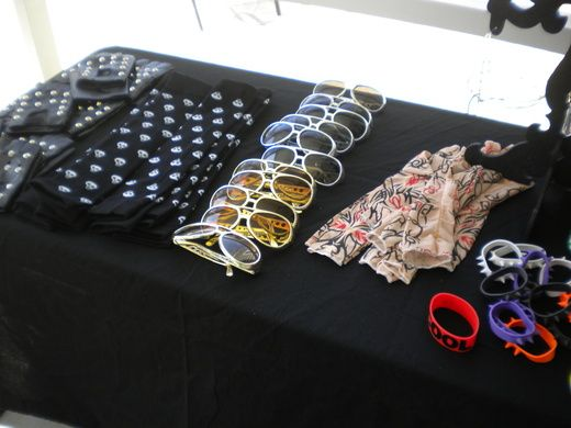 Rockstar SWAG table