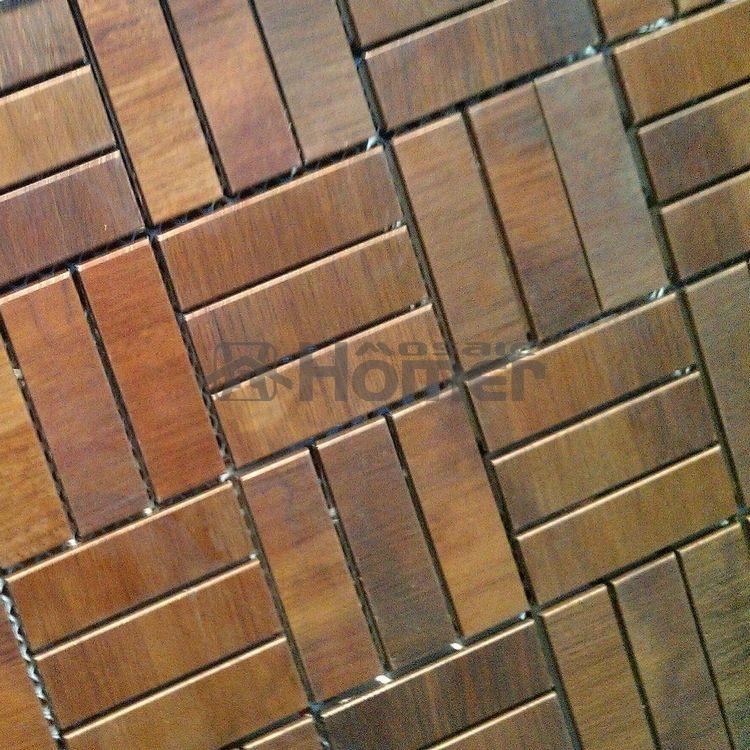 bronze and green tile free shipping genuine bronze mosaic tiles rh pinterest com au