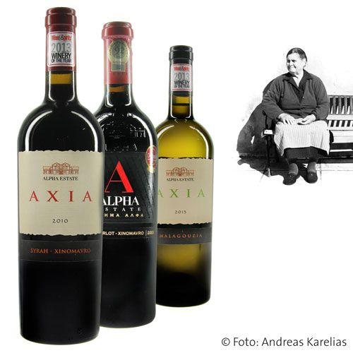 Sie sind endlich da, die Weine von Alpha Estate! Das Weingut wurde vom Wine & Spirits Magazine zur Winery of the Year 2013 ernannt - nicht ohne Grund: Die Weine sind fantastisch!