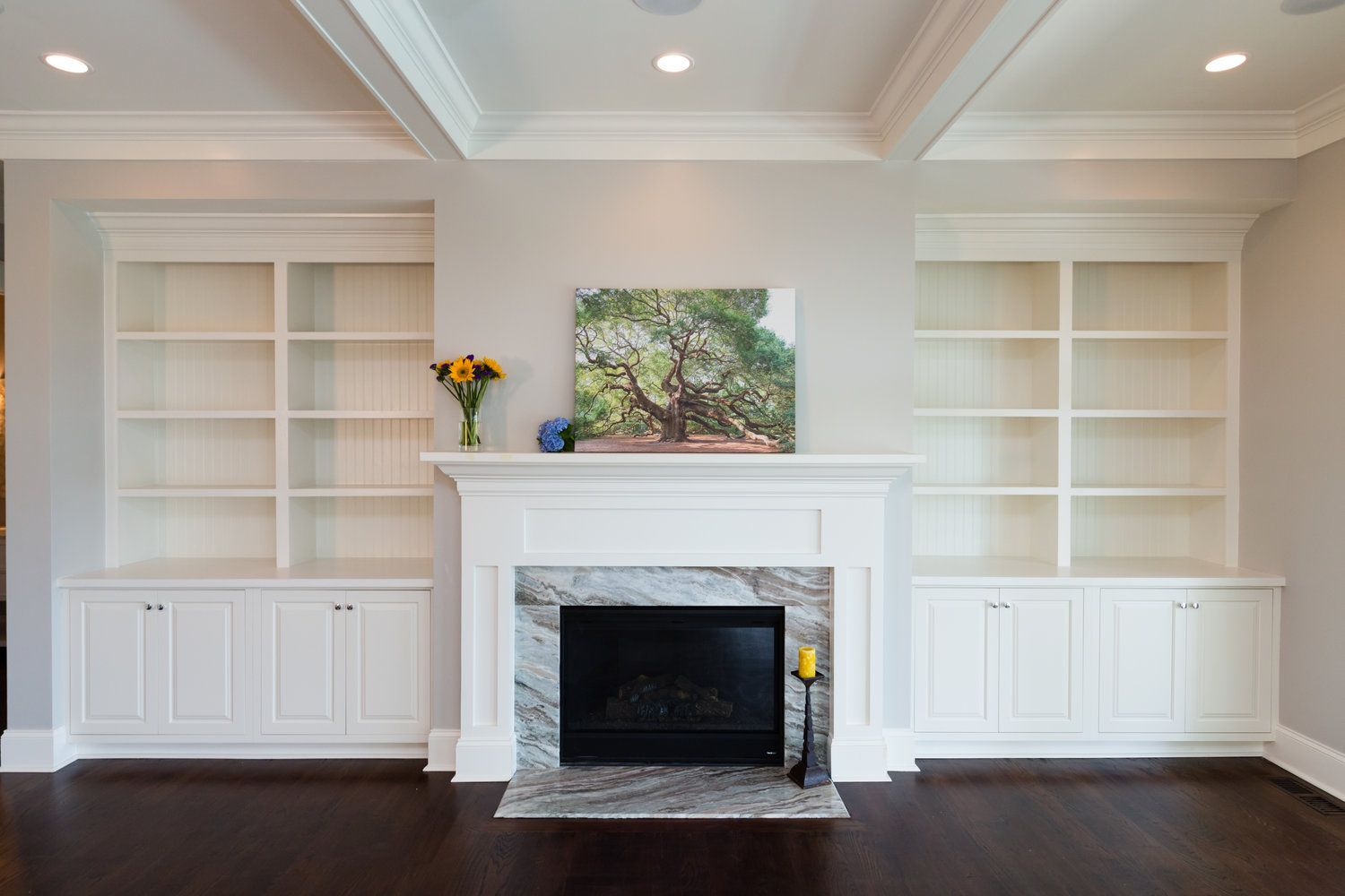 great example for built ins around parkview fireplace mckinley rh pinterest com