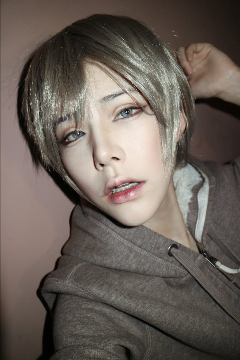 Anime Boy Makeup