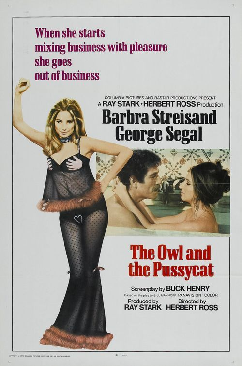 The Owl And The Pussycat 1970 Barbra Streisand Dvd Barbra
