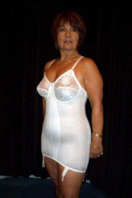 white open bottom allinone girdle  fashion bodycon