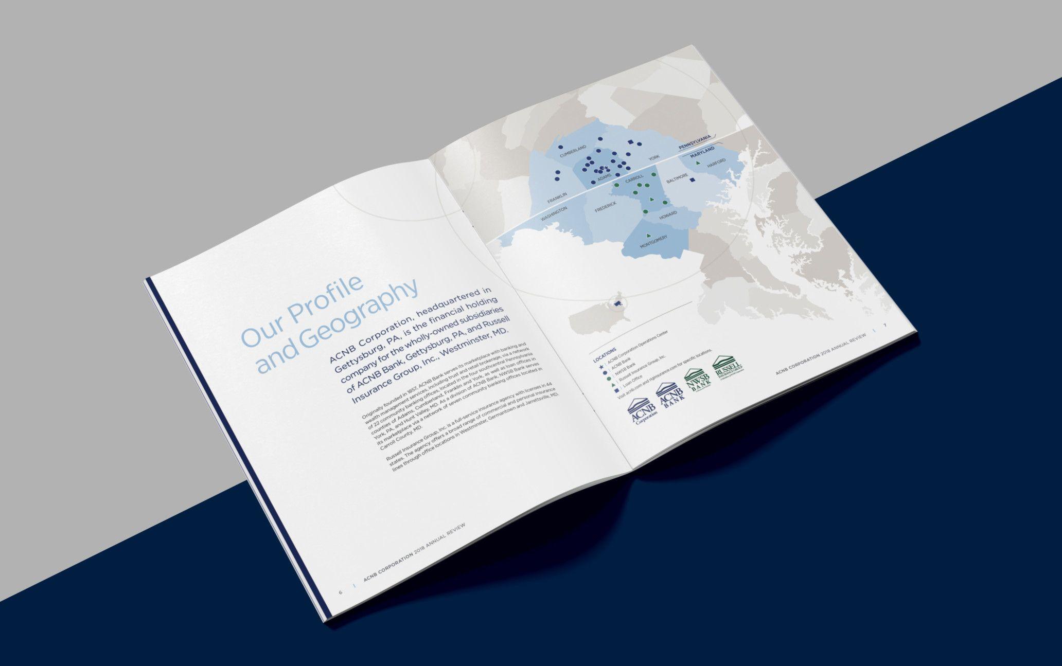 Acnb Annual Review Publication Design Publication Design