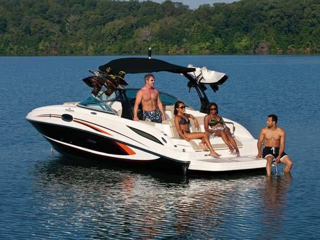 New 2012 Sea Ray Boats 185 Sport Bowrider Boat - Good Times