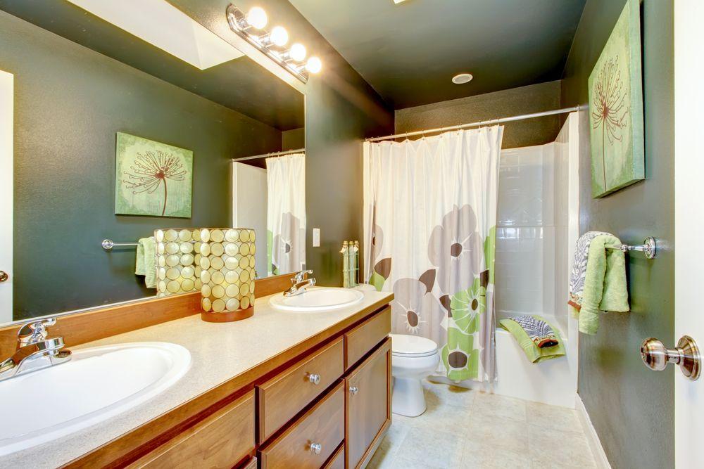 Muurverf Voor Badkamer : Een muurverf wordt vaak gebruikt in de badkamer door de hoge