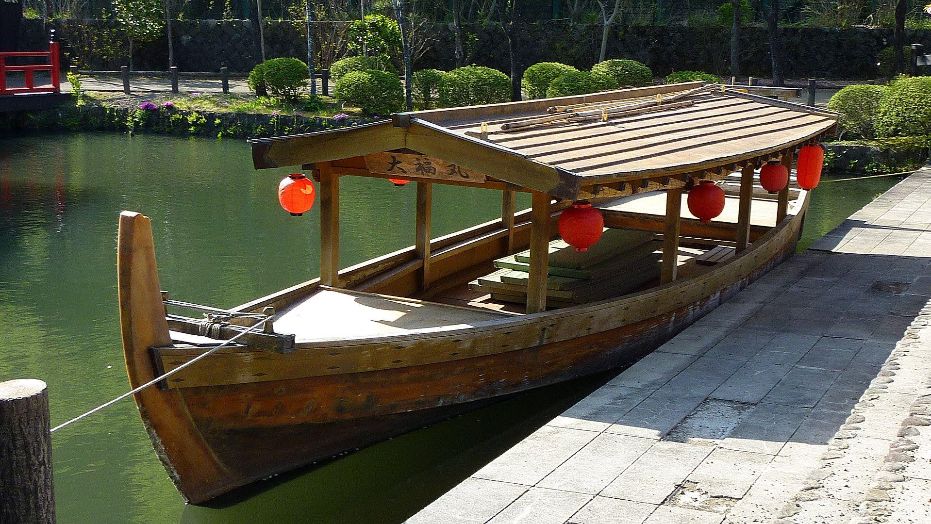 активность прогулках, картинки японской лодки помощью