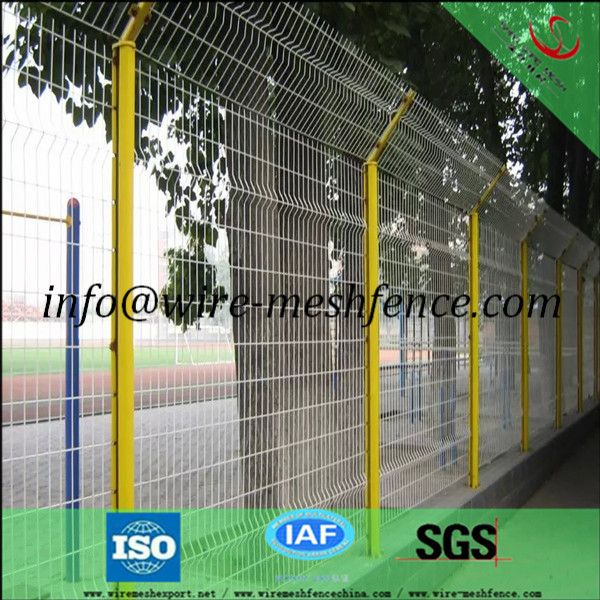 High Quality PVC Coated 3D Wire Mesh Fence/ Welded Garden Fence ...