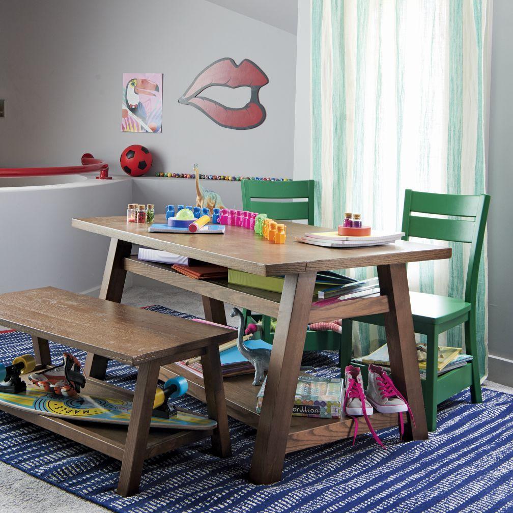 Porter Play Chair Green The Land of Nod Art Studio Pinterest
